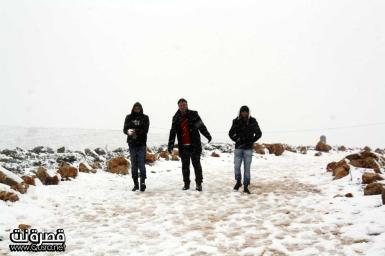 Jan 10 2013 - Qusra in the snow in Palestine - Photo by Qusra net 15