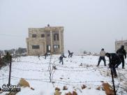 Jan 10 2013 - Qusra in the snow in Palestine - Photo by Qusra net 21