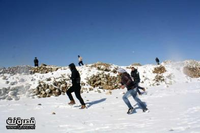 Jan 10 2013 - Qusra in the snow in Palestine - Photo by Qusra net 27