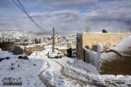 Jan 10 2013 - Qusra in the snow in Palestine - Photo by Qusra net 6