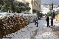Jan 10 2013 - Qusra in the snow in Palestine - Photo by Qusra net 7