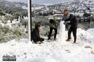 Jan 10 2013 - Qusra in the snow in Palestine - Photo by Qusra net 8