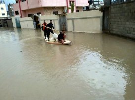 Jan 10 2013 - Rafah Gaza - Extreme weather and storms in Palestine - Photo by paldf
