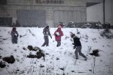 Jan 10 2013 Ramallah covered in Snow - Snow in Palestine - Photo by Eyad Jadallah- WAFA