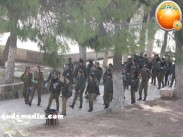 Jan 29 2013 Female Israeli Soldiers March through Aqsa Compound - Photo by QudsMedia 21
