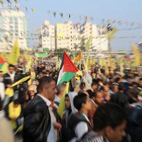 Jan 4 2013 Fatah celebrations Gaza Photo by Omar el Qattaa - 1