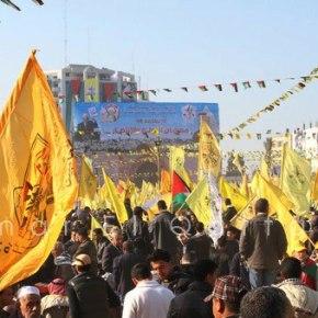 Jan 4 2013 Fatah celebrations Gaza Photo by Omar el Qattaa