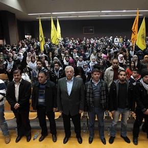 Jan 5 2013 48th Anniversary of Fatah Youth Birzeit - Photo by WAFA