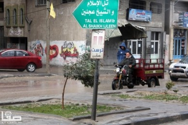 Jan 7 2013 Aftermath Storm West Bank Palestine 11