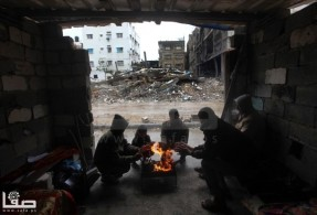 Jan 7 2013 Aftermath Storm West Bank Palestine 14