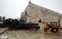 Jan 7 2013 Aftermath Storm West Bank Palestine 18