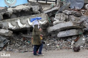 Jan 7 2013 Aftermath Storm West Bank Palestine 3