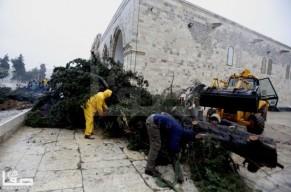 Jan 7 2013 Aftermath Storm West Bank Palestine 5