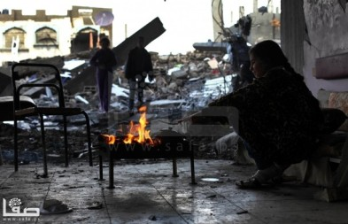 Jan 7 2013 Aftermath Storm West Bank Palestine 6