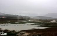 Jan 8 2013 Floods and landslides in Nablus Photo by SAFA