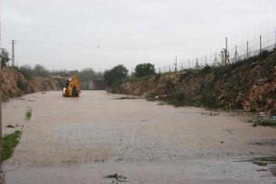 Jan 8 2013 Floods in Qalqilya - Photo via Paldf