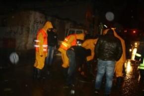 Jan 8 2013 Floods in West Bank - Photo via Paldf