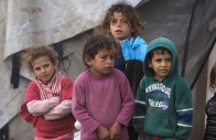 Jan 8 2013 Scenes of daily life of Palestinians in Jordan Valley during the ongoing storm Photo by Ayman Nubana