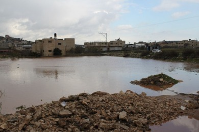 Jan 9 2013 Jenin - the serious damage left behind in the towns of Qabatiya and Jaba south of Jenin Photo by WAFA