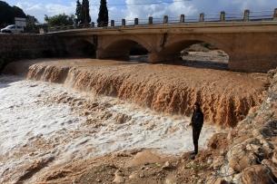 Jan 9 2013 Jericho Floods Extreme Weather in Palestine - Photo by WAFA