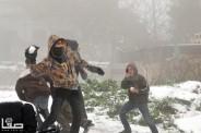Jan 9 2013 Jerusalem in Snow - Palestine Extreme Weather - Photo by SAFA