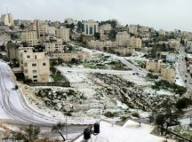 Jan 9 2013 Ramallah in Snow - Photo via Paldf 12