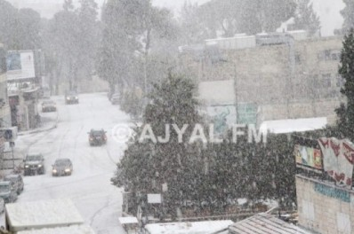 Jan 9 2013 Ramallah in Snow - Photo via Paldf 5
