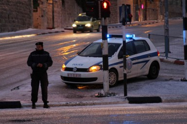 Jan 9 2013 - Snow in Bethlehem - Photo by WAFA 10