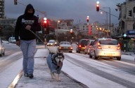 Jan 9 2013 - Snow in Bethlehem - Photo by WAFA