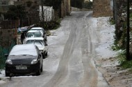 Jan 9 2013 - Snow in Bethlehem - Photo by WAFA 4