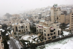 Jan 9 2013 Snow in Palestine -West Bank -  Photo by PalToday