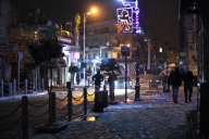 Jan 9 2013 - Snow in Ramallah Palestine - Photo by WAFA 4