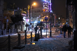 Jan 9 2013 - Snow in Ramallah Palestine - Photo by WAFA 8