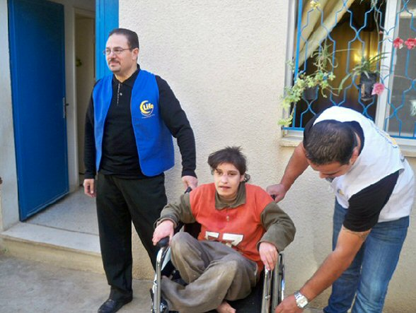 Dec 3, 2010 Life for Relief and Development distributes new wheelchairs to disabled Palestinians in Jordan