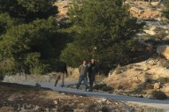 Occupation forces suppress population of Bab Al-Shams for the second time - Jan 15 2013 Photo by Palestine Today
