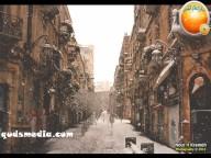 Snow in Palestine - Snow in Jerusalem Photo via QudsMedia - 10