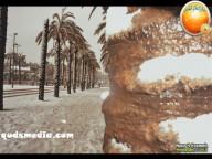 Snow in Palestine - Snow in Jerusalem Photo via QudsMedia - 19