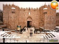 Snow in Palestine - Snow in Jerusalem Photo via QudsMedia - 21