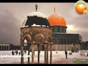 Snow in Palestine - Snow in Jerusalem Photo via QudsMedia - 25