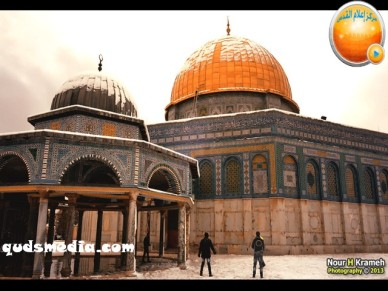 Snow in Palestine - Snow in Jerusalem Photo via QudsMedia - 26