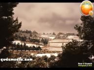 Snow in Palestine - Snow in Jerusalem Photo via QudsMedia - 27