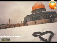 Snow in Palestine - Snow in Jerusalem Photo via QudsMedia - 28