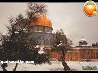 Snow in Palestine - Snow in Jerusalem Photo via QudsMedia - 31