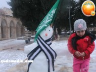 Snow in Palestine - Snow in Jerusalem Photo via QudsMedia - 34