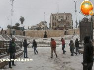 Snow in Palestine - Snow in Jerusalem Photo via QudsMedia - 36