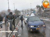 Snow in Palestine - Snow in Jerusalem Photo via QudsMedia - 38