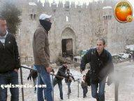 Snow in Palestine - Snow in Jerusalem Photo via QudsMedia - 40