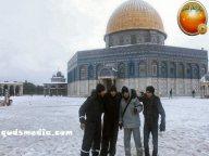 Snow in Palestine - Snow in Jerusalem Photo via QudsMedia - 43