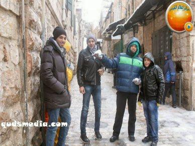 Snow in Palestine - Snow in Jerusalem Photo via QudsMedia - 45