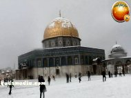 Snow in Palestine - Snow in Jerusalem Photo via QudsMedia - 47